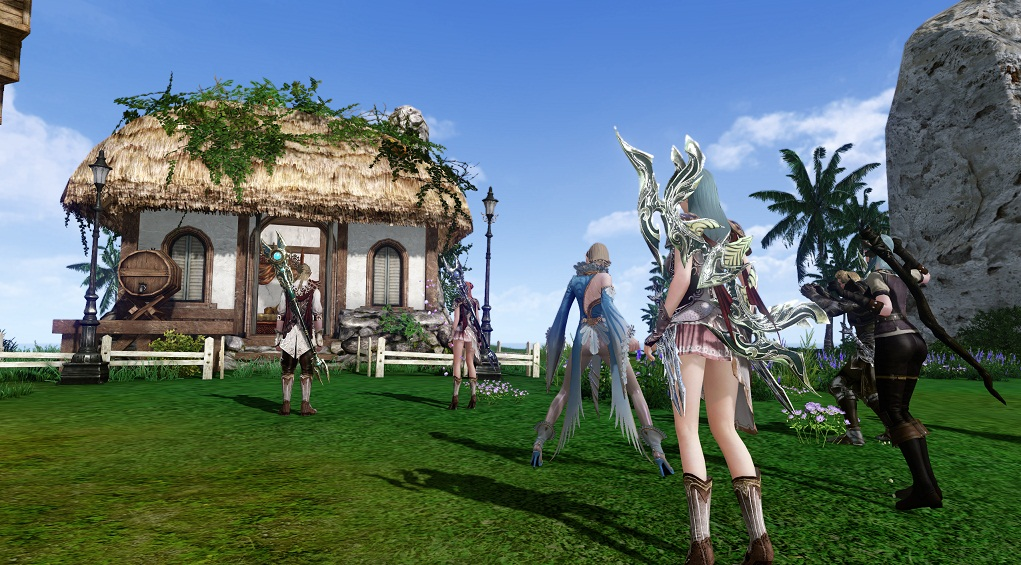 Wallpaper-Archeage Beta Memorable moments