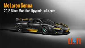McLaren Senna 2018 Black - U4N.com